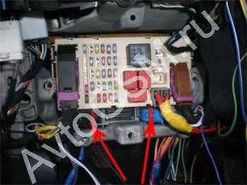 установка самой простой сигнализации на фиат стило