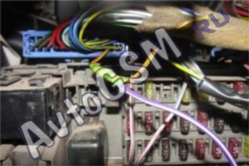 Ваз 2112 установка сигнализации с автозапуском