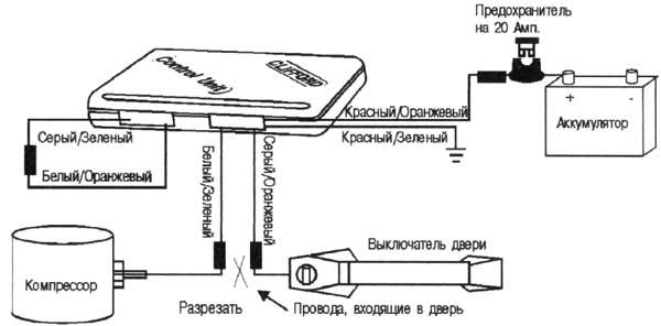 Схема 5. Вакуумный насос (Мерседес-Бенц и Ауди) .