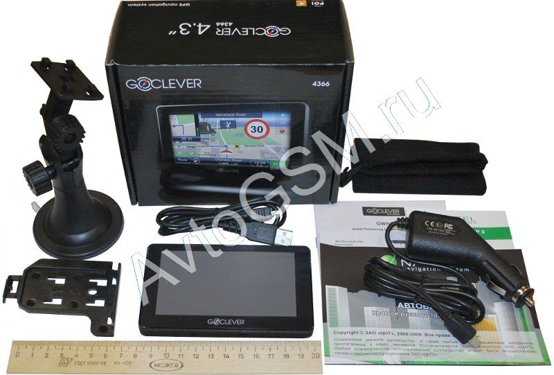 Goclever Gc-4366 Карты