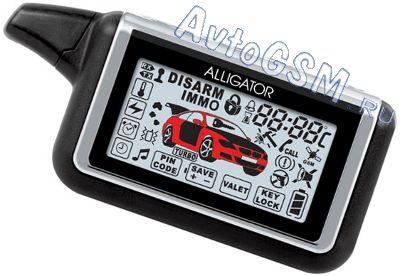 инструкция к автосигнализации аллигатор 868