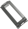 Переходная рамка 1-DIN Carav 11-054 для Chrysler (300C 2005-2007, PT Cruiser 2006-2010), Dodge (Charger 2006-2007, Ram 2006-2008, Dakota, Magnum 2005-2007, Durango 2004-2007), Jeep (Grand Cherokee 2005-2007, Commander 2006-2007, Compass 2007-2008), Mitsubishi Raider 2006-2007 (артикул 11710)