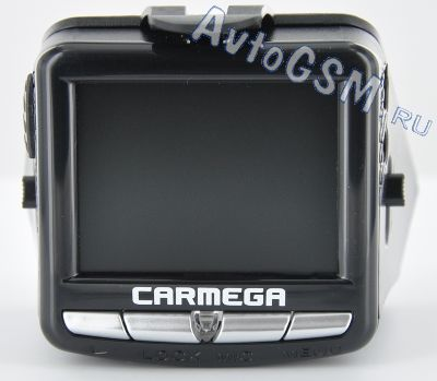 ���������������� Carmega VRE-123 -  ��-������� 2.4 �����, GPS-��������, ���������� HD, ���� ������ 120 ��������, ������������ ���� �������, G-������, ����������� ����������� Player ��� ��������� �������