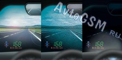 Аксессуар Carax CRX-3120-10 - Проектор скорости на лобовое стекло - фото 4