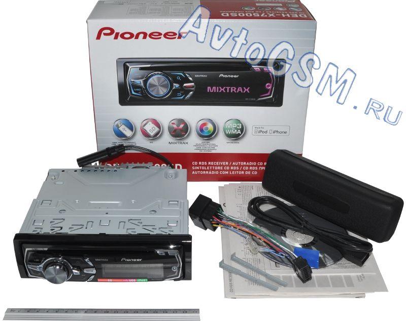 Pioneer deh-x7500sd инструкция