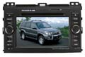 PHANTOM DVM-3006 new - 2-DIN DVD/MP3-ресивер с ТВ для TOYOTA PRADO (артикул 388)