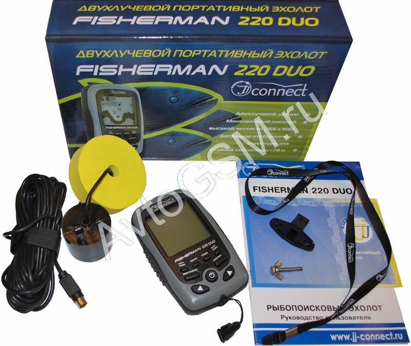 датчик jj-connect для эхолота fisherman 220 duo