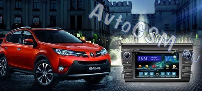 ������� �������� ���������� FlyAudio G7132F01 ��� Toyota RAV4 new (c 2013 �.�) - �� ������� ��������� (����� ������), Wi-Fi, Bluetooth, �� Android, 7-�������� ������� 1024�600 (������� 8697)