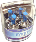 Комплект галогенных ламп MTF Light Palladium H4 100/90W (артикул 2941)