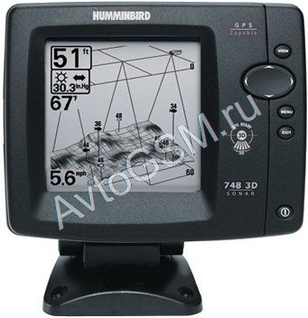������������ ������ Humminbird Matrix 748x 3D  - 5-�������� �������, ���������� ����������� ���, ���������� SwitchFire,  ������ ��������