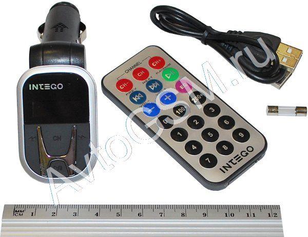 FM-трансмиттер с пультом ДУ Intego FM-109 - фото 11