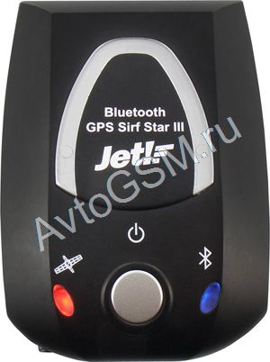 Беспроводной GPS-приемник Jet! Bluetooth GPS Sirf Star III, USB (артикул 3393)