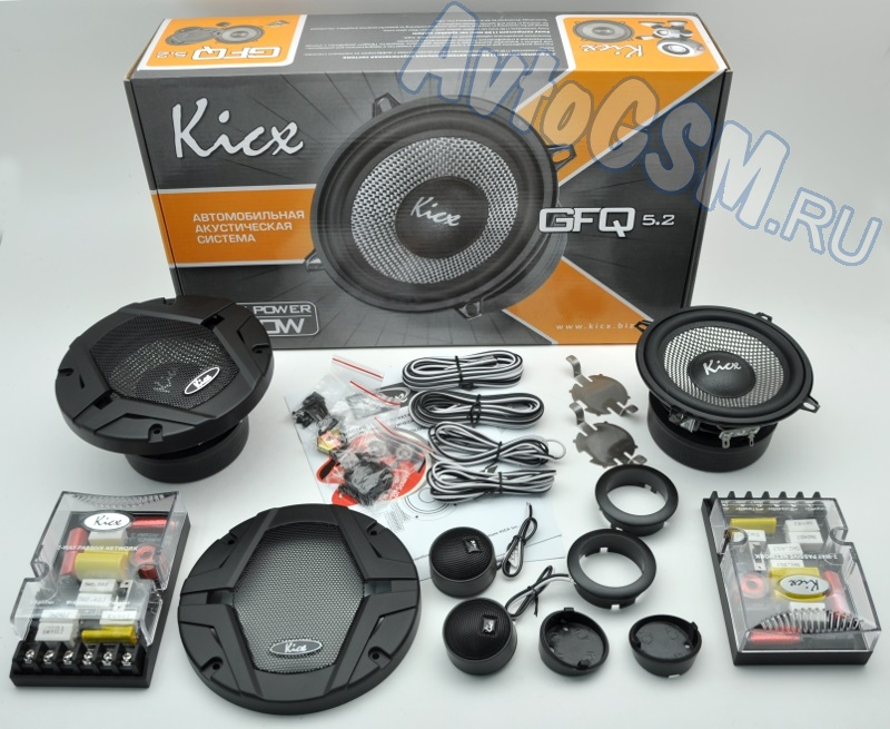 Автоакустика Kicx GFQ-5.2 - фото 11
