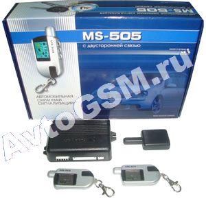 Сигнализация Ms-505 Инструкция - фото 8