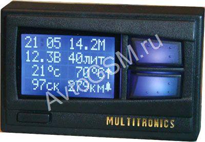 Инструкция к подключить мультитроникс х10 на ваз 2110-2