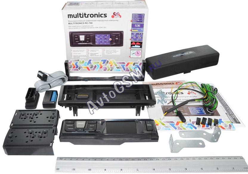 Бортовой компьютер Multitronics RC-700 - фото 6