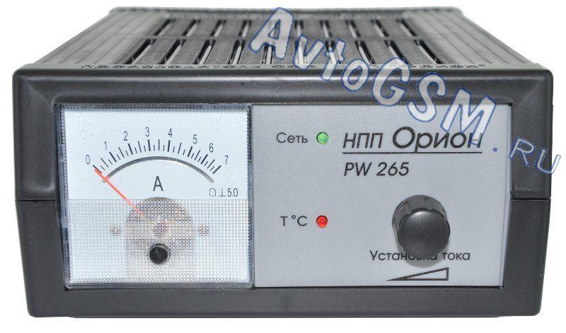 ORION PW265. для 12-вольтовых