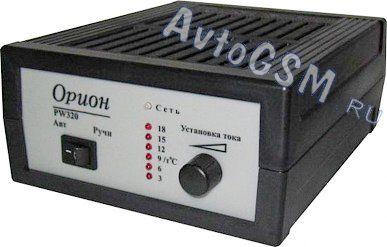 Автомобильных по аккумуляторов инструкция зарядке орион