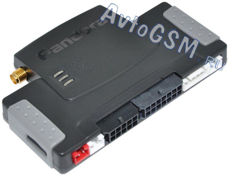 GSM-интерфейс, кнопка SOS, miniUSB-порт, подключение к шинам САN и LIN, диалоговый код, RFM-интерфейс.