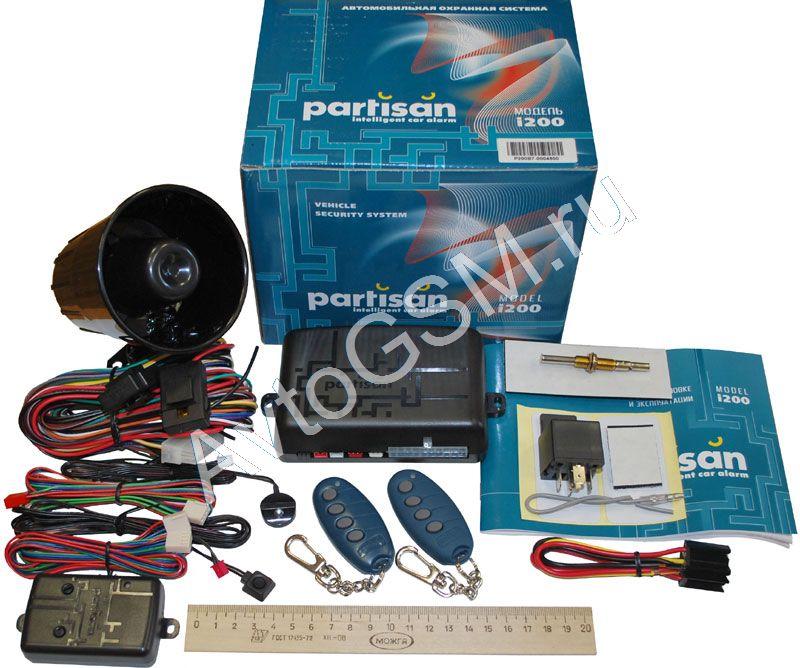 Partisan I200 инструкция - фото 3
