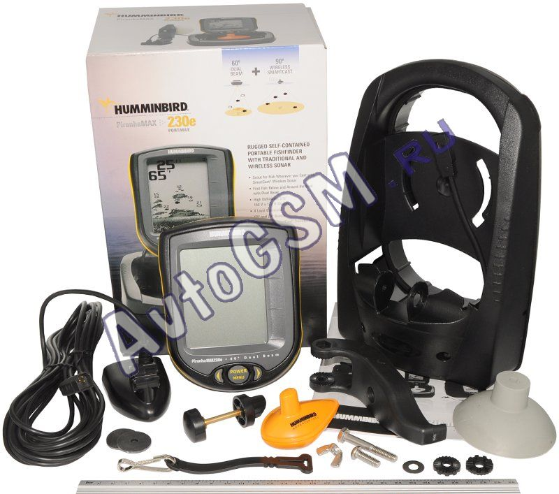 купить эхолот humminbird piranhamax 230 portable