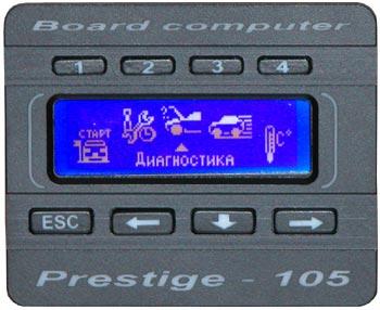 Маршрутный бортовой компьютер prestige g105
