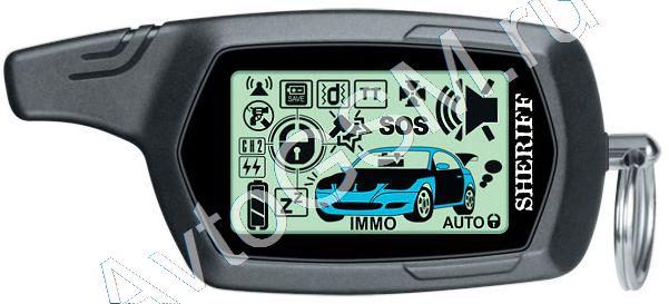 4. 2. 1. Дальность приёма.  ЖК-экран.  Автомобильная сигнализация Sheriff ZX-1070.  Автозапуск.