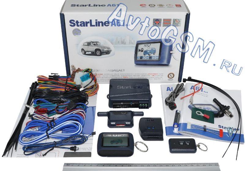 Сигнализация Starline А61 Инструкция По Эксплуатации Как Настроить - фото 8