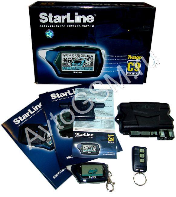 инструкция на автосигнализацию starline с9