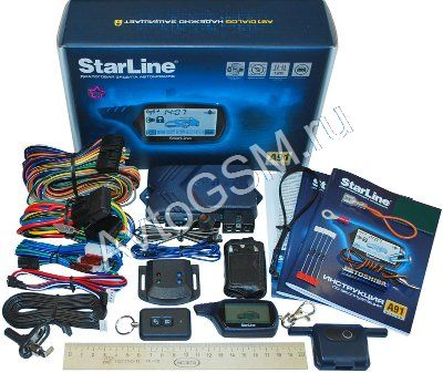 Автосигнализация с автозапуском StarLine A91 Dialog (АКЦИЯ!!!