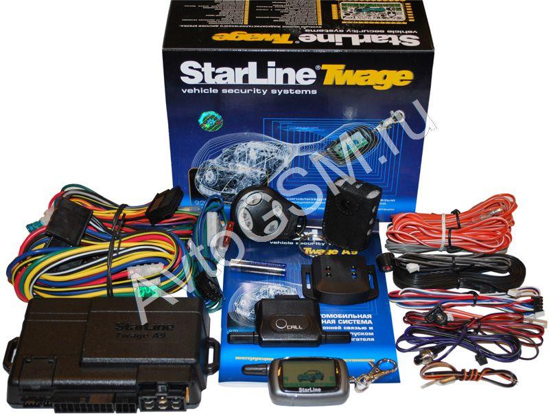 инструкция к сигнализации starline с автозапуском а9