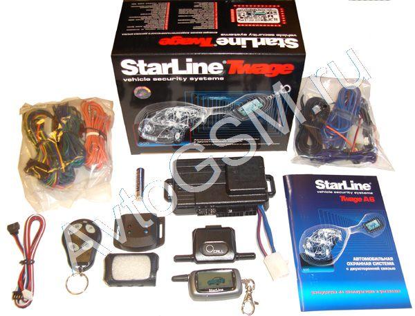 сигнализации Starline,