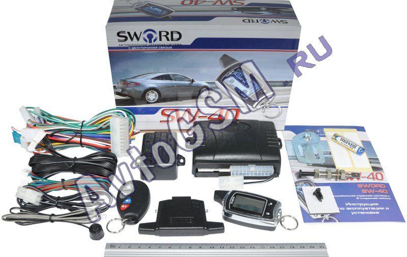 Сигнализация Sword Sw 50Rs Инструкция