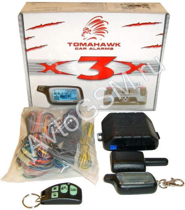 Tomahawk x3: характеристики сигнализации, особенности, инструкция.