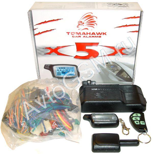 Автосигнализация Tomahawk X5 Инструкция - фото 9