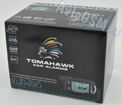 Автосигнализация с автозапуском Tomahawk 9.3. 24V - фото 11