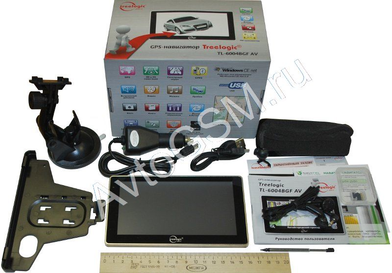 Gps навигатор с видеовходом av in