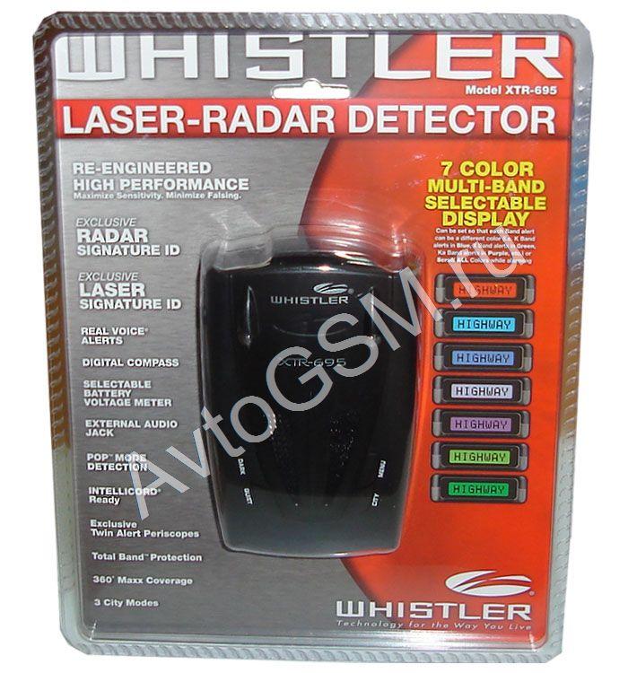 Whistler W3003 Инструкция