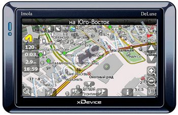 �������� �������������� xDevice microMAP imOla Deluxe �� ������� 3.2 ������ � ������� + ������� ������������ ����������� ������� ���� Back Lamp Camera GL 8902 (������� 3297)